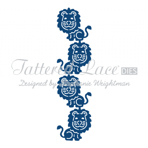 Tattered Lace Die Lion Border - D840